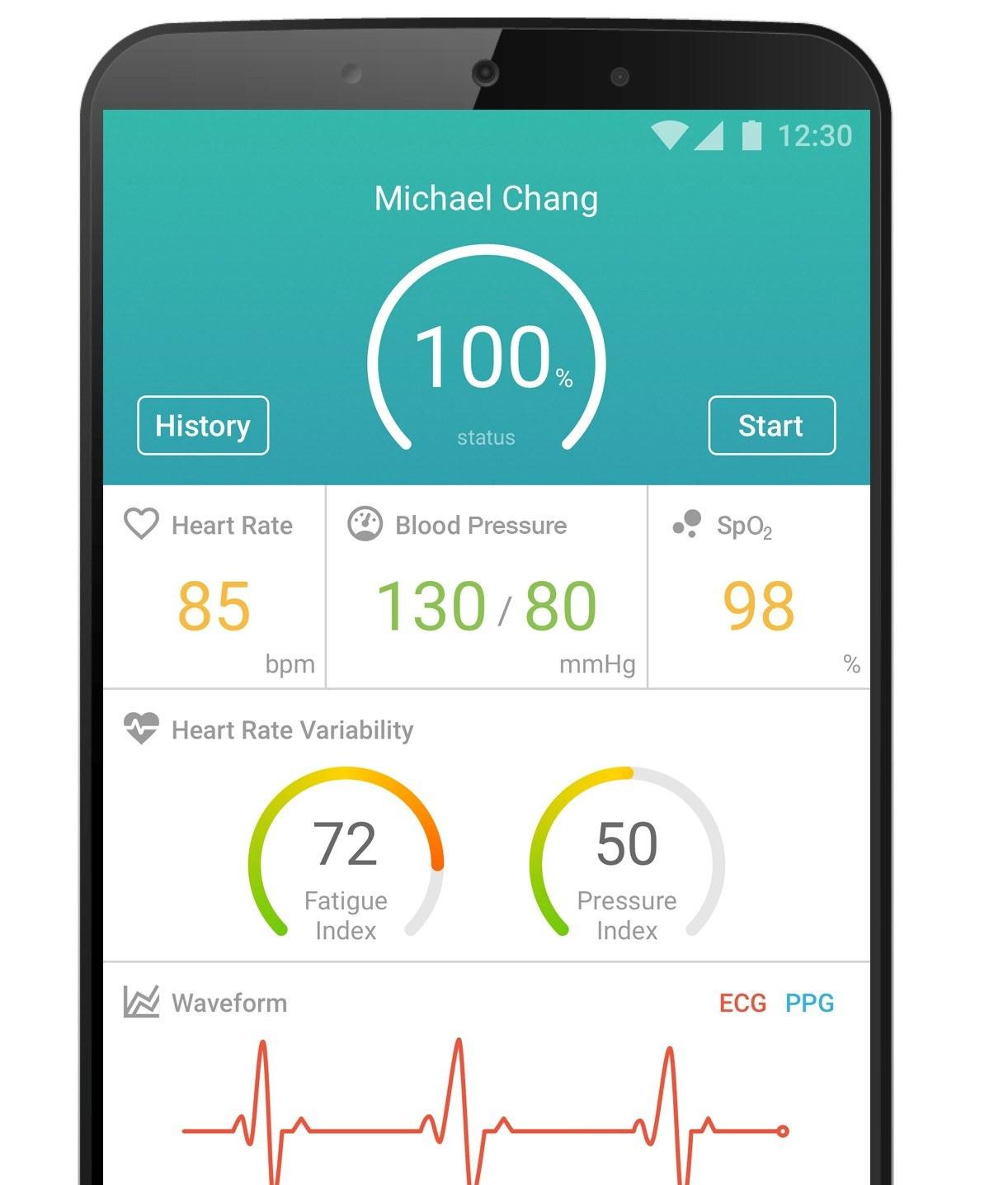 Sensio Smartphone