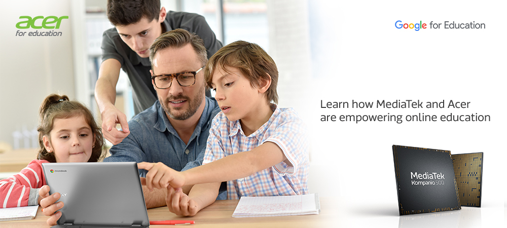 Learn how MediaTek and Acer are empowering online education