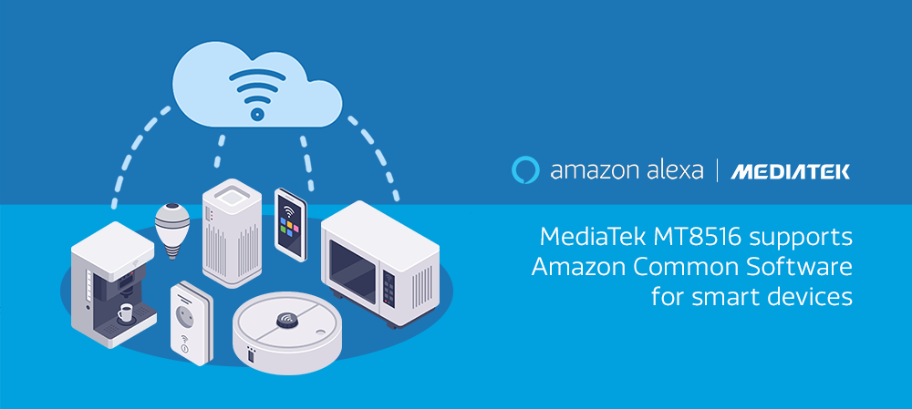 MediaTek MT8516 supports Amazon Common Software for Devices