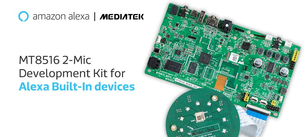 MediaTek launches development kit for Alexa built-in devices