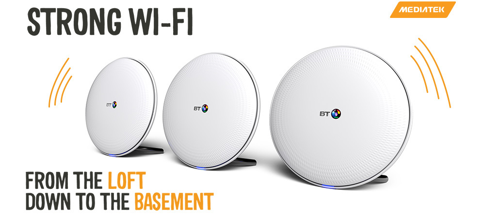 BT Launches Whole Home Wi-Fi at CES 2017