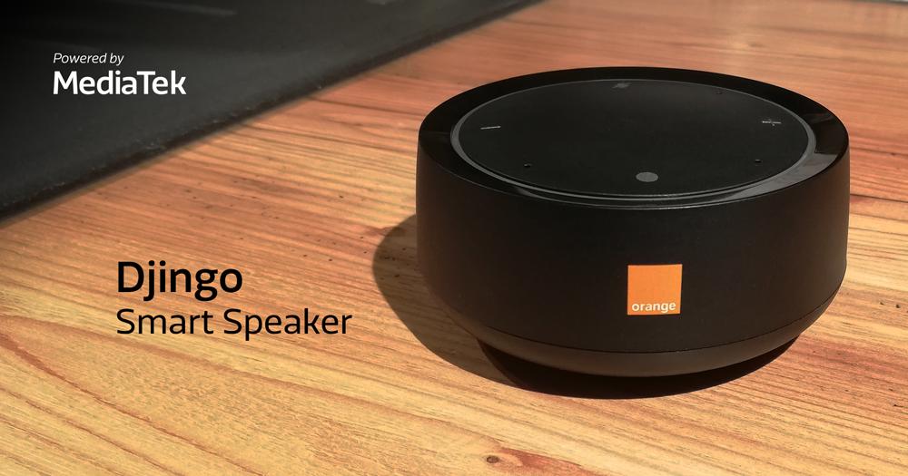 MediaTek and Orange collaborate on the Djingo Speaker