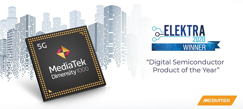 MediaTek Dimensity 1000+ awarded Digital Semiconductor Product of the Year