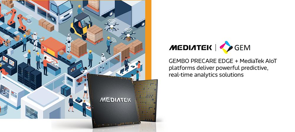 GEMBO PRECARE EDGE powered by MediaTek AIoT platforms