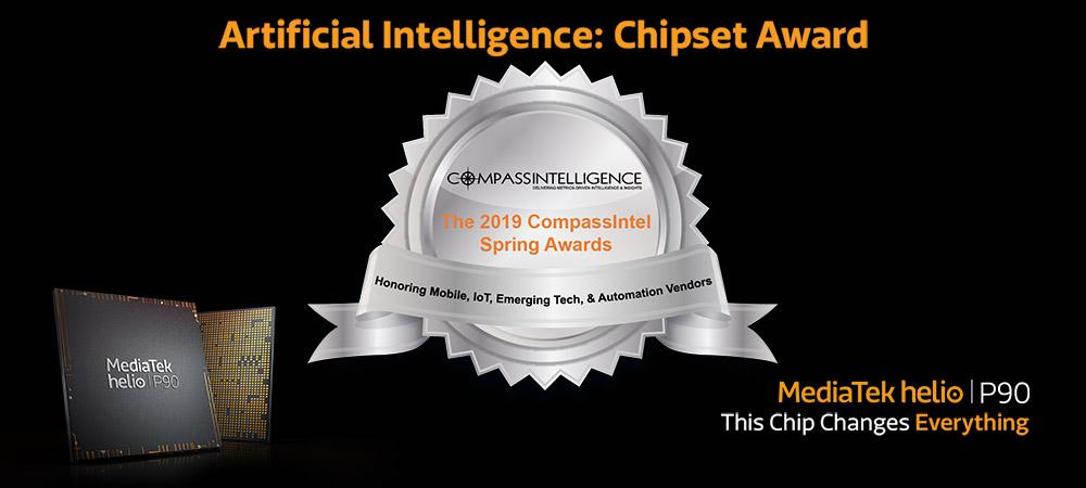 MediaTek Helio P90 receives AI Chipset Award