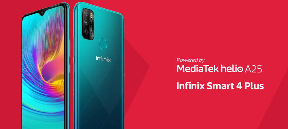 MediaTek Helio A25 powers the new Infinix Smart 4 Plus