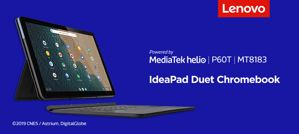 Lenovo IdeaPad Duet Chromebook powered by MediaTek Helio P60T