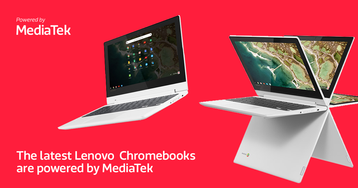 Lenovo launches MediaTek-powered Chromebooks and tablets at IFA 2018