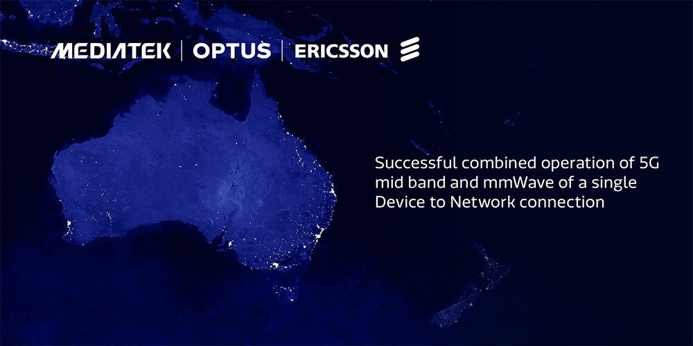 Optus, Ericsson and MediaTek successfully trial 5G NR-DC in Australia