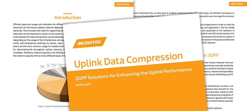New Whitepaper: Enhancing uplink performance with data compression techniques