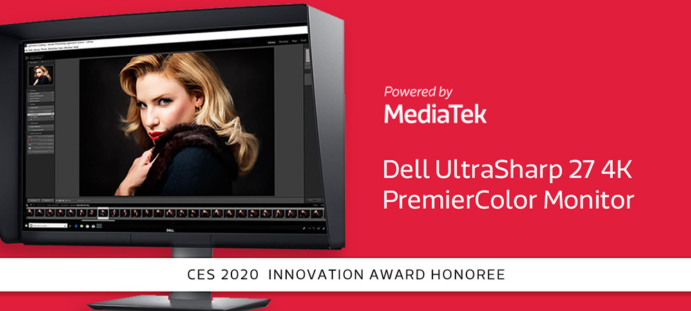 Dell UltraSharp 27 4K PremierColor Monitor, powered by MediaTek