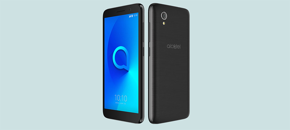 Alcatel 1 - Android Oreo Go Edition smartphone