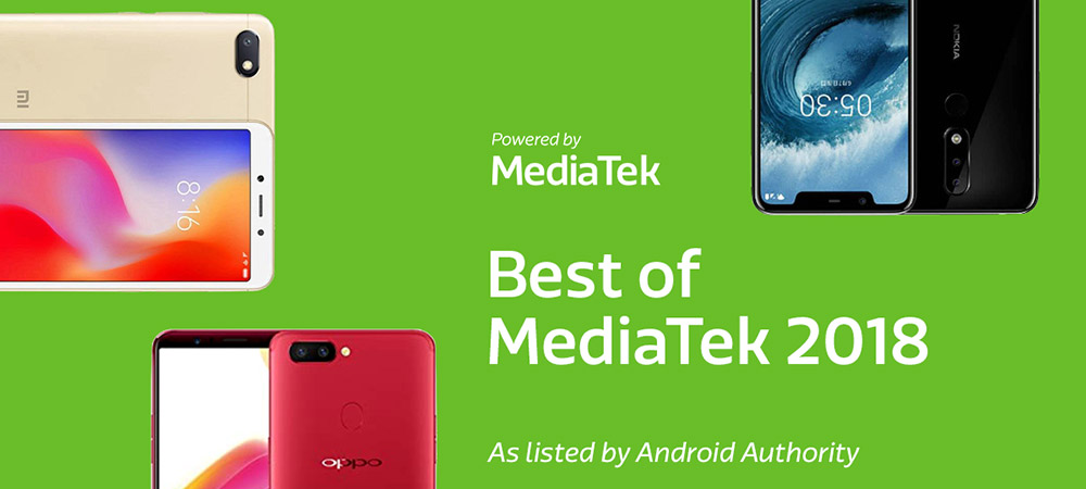 Spotlight Shines on MediaTek's Best Smartphones of 2018