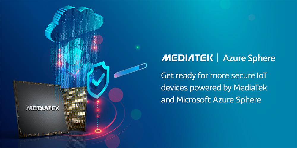 Azure Sphere adoption using MediaTek MT3260 MCU continues to grow