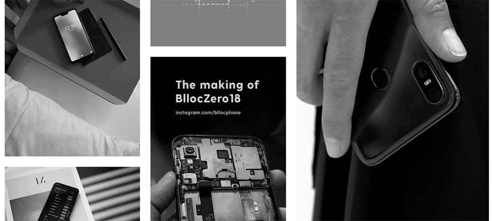 Maximize Your Focus and Freedom with Blloc's Minimalistic Monochrome Smartphone