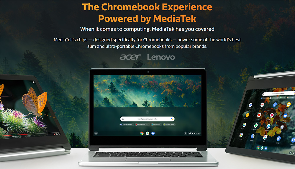 Did you know MediaTek powers Chromebooks?