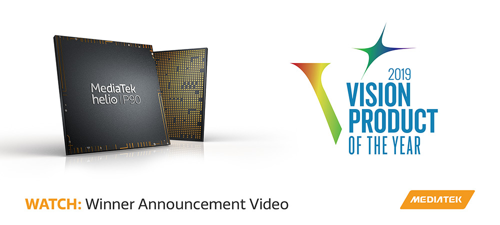 MediaTek Wins Embedded Vision Alliance, 2019 Vision Product of the Year