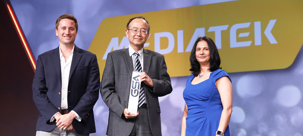 MediaTek wins Outstanding Asia-Pacific Semiconductor Company at GSA Awards