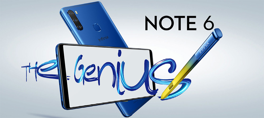 Infinix Note 6 brings the style and the stylus