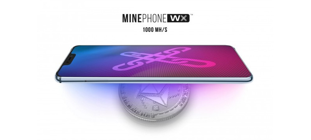 Minephone WX is an Ethereum mining smartphone powered by MediaTek Helio P60