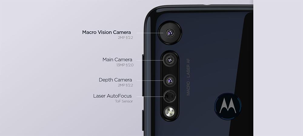 Motorola One Macro, powered by MediaTek