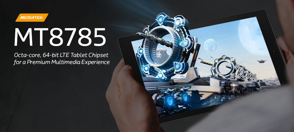 MT8785 - Cat-6 enabled octa-core tablet chipset