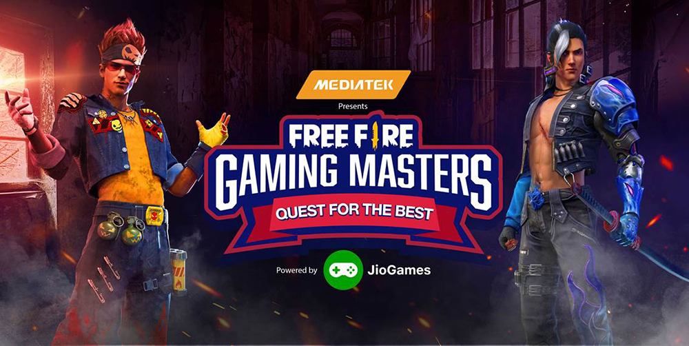 MediaTek presents: Free Fire Gaming Masters Powered by JioGames