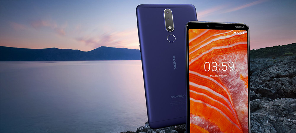 Nokia 3.1 Plus is sturdy, stylish, and secure - with two days of power