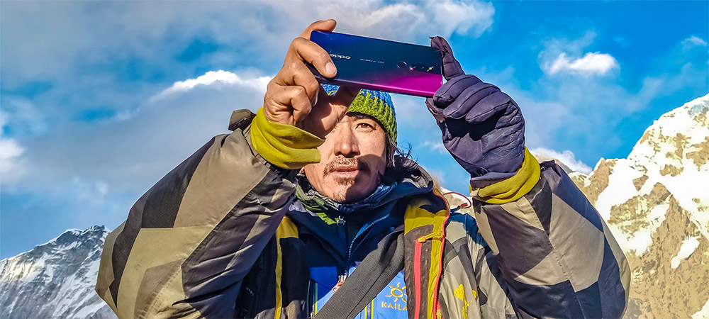 Oppo F11 Pro captures stunning shots from Everest Base Camp