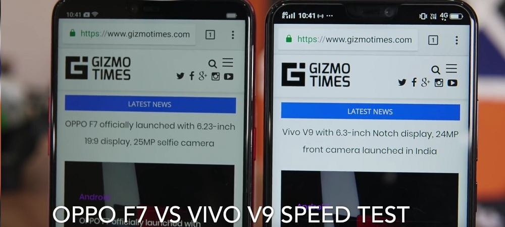 OPPO F7 beats the Vivo V9 in Performance and Style
