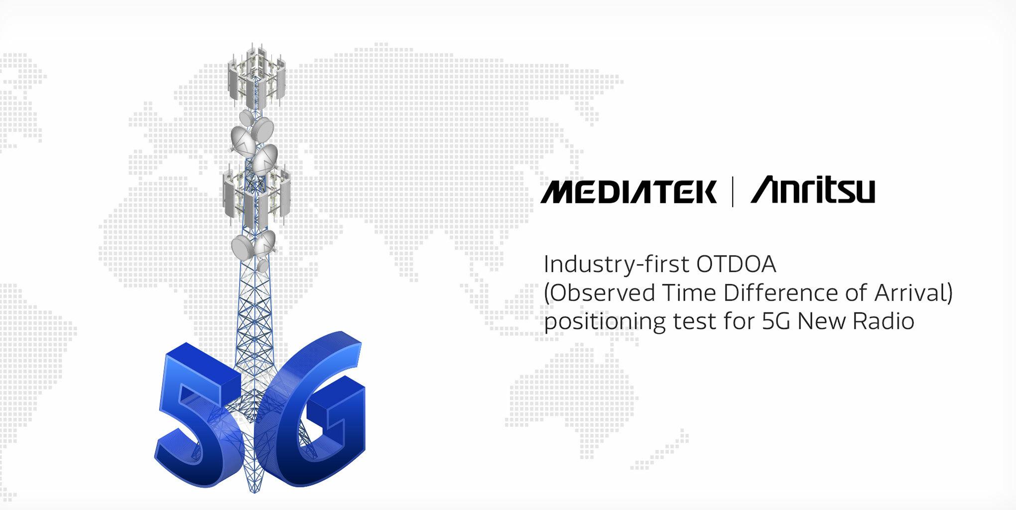 Industry-First OTDOA Positioning Test for 5G NR