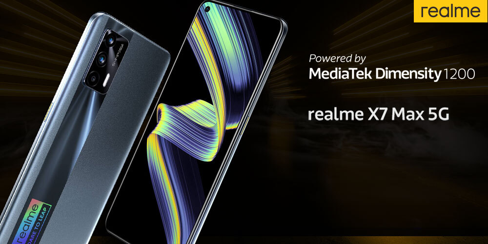 realme X7 Max 5G - first MediaTek Dimensity 1200 smartphone in India