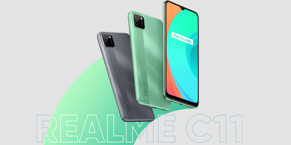 realme C11, powered by MediaTek Helio G35