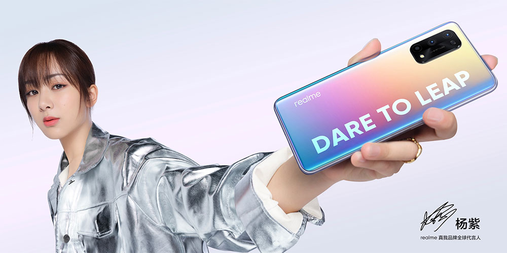 The stunning realme X7 Pro is powered by Dimensity 1000+