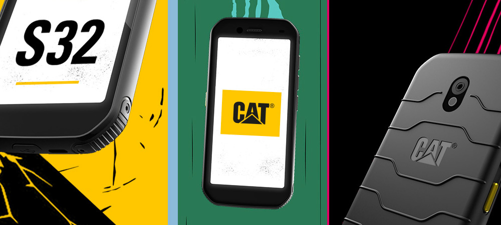 Ruggedized Cat S32 Smartphone powered by MediaTek Helio A20