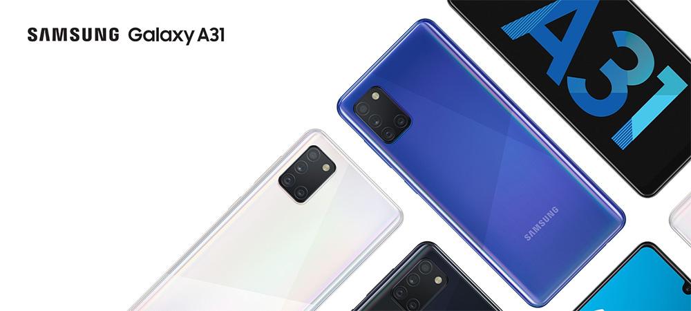 Samsung Galaxy A31, powered by MediaTek