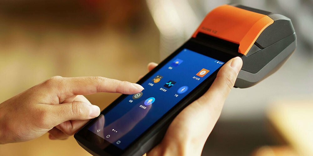 SUNMI intelligent, handheld point of sale devices powered by MediaTek AIoT