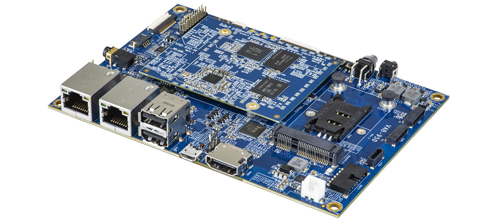 VIA VAB-950 SBC features MediaTek i500 SoC for AIoT Applications