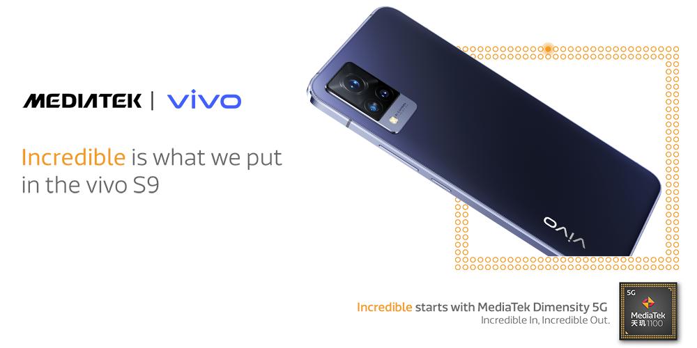Vivo S9 Pro powered by MediaTek Dimensity 1100