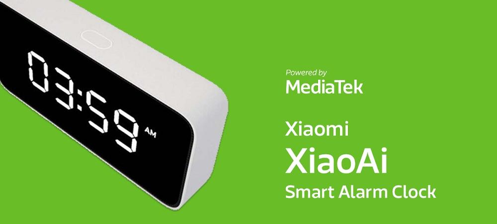 Xiaomi XiaoAi Smart Alarm Clock powered by MediaTek